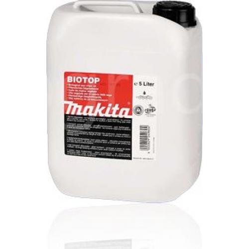 Масло для смазки цепей Makita BIOTOP 980 408 611 емкость 5 л