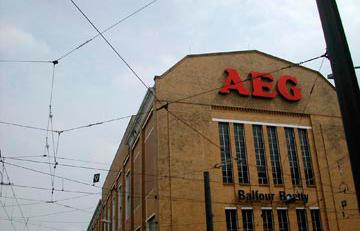 завод AEG в Берлине