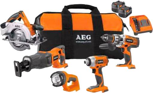 аккумуляторные инструменты AEG